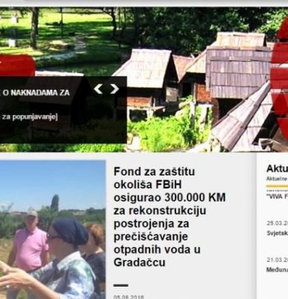 Vijesti iz Fonda za zaštitu okoliša FBiH: Za prečišćavanje otpadnih voda u Gradačcu  300.000 KM
