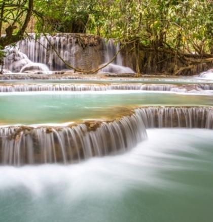 FOTOGALERIJA: Slapovi Kuang Si, Laos