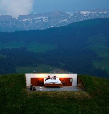Švicarski hotel koji nema krova, ali ima batlera