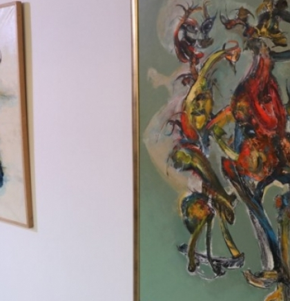 U Sarajevu otvorena izložba akademskog slikara Izeta Alečkovića