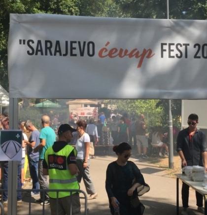 """Flavor of ćevapi over At Mejdan: First """"Sarajevo Ćevap Fest 2017"""""""