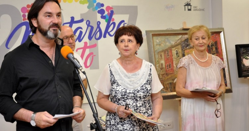"""Exhibition """"Mostar in Summer Colors"""" opens"""