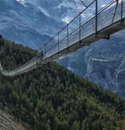 Charles Kuonen je most koji nije za svakoga