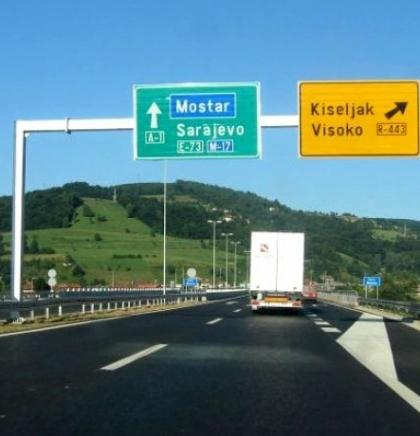 U toku su i radovi na izgradnji pješačkog prolaza ispod magistralnog puta M-17, kod mosta u Konjicu