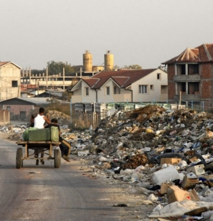 City on the edge of Skopje and this century:  Shuto Orizari, the largest Roma municipality in the Balkans