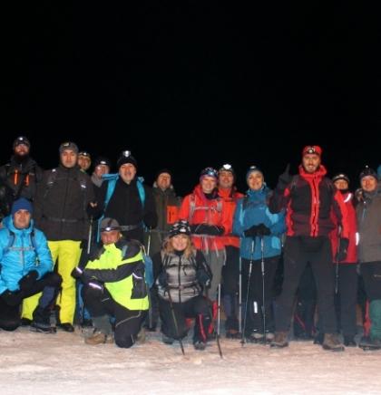 Noćni uspon na vrh trebevića sa TREK timom