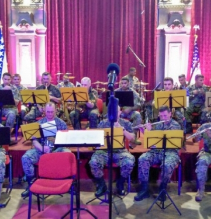 Orchestra and choir of U.S. European Command holds concert in Sarajevo