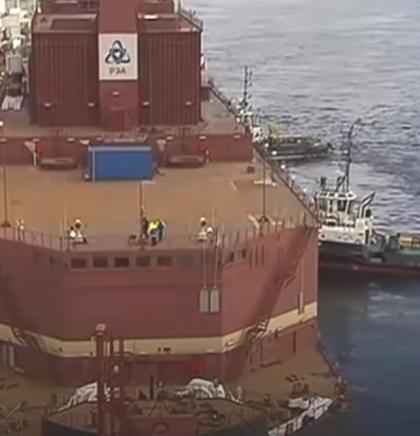 Ruska plutajuća nuklearna elektrana uplovila u artičku luku Murmansk