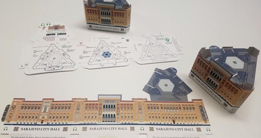 Predstavljen interaktivni audio vodič i 3D suvenir mapa za sarajevsku Vijećnicu