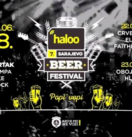 Otvoren 7. haloo Sarajevo Beer Festival, događaj muzike i piva