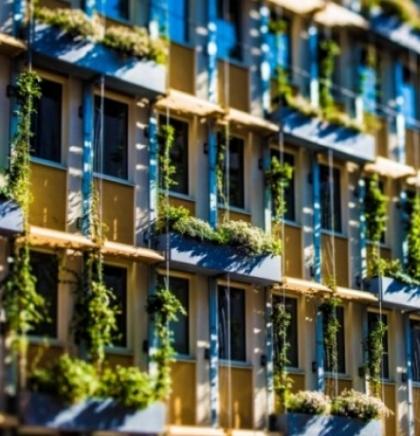 U Beču zelene fasade umjesto klima uređaja
