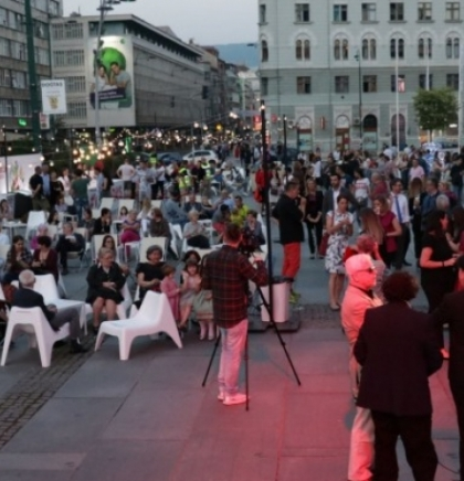 Koncertom DJ Febrationa počela manifestacija 'Dani Beča u Sarajevu'