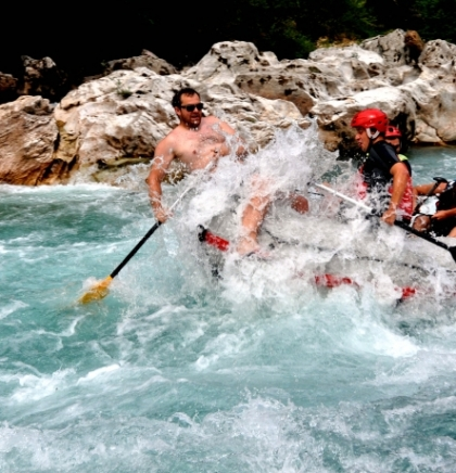 Water sports: Rafting