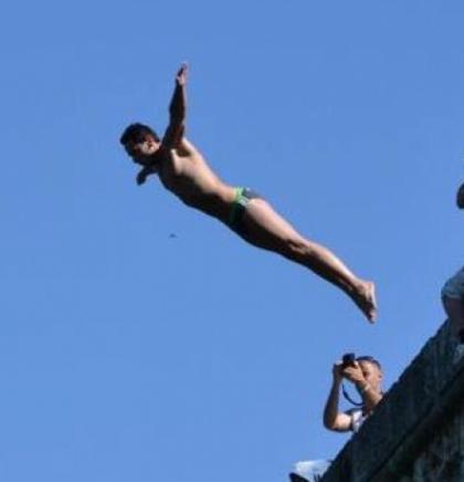 Međunarodni skokovi u vodu na Bentbaši 18. augusta
