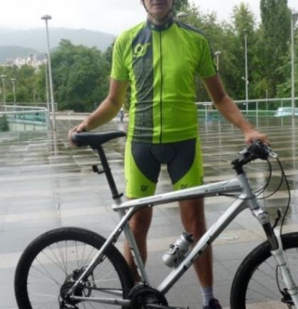 Nedžad Agić biciklom putuje u Dubrovnik na godišnjicu objave Povelje Kulina bana