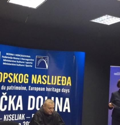 """Kreševo: Ministrica kulture i sporta F BiH Zora Dujmović otvorila """"Dane europskog naslijeđa"""""""