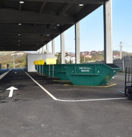 First recycling yard in Sarajevo Canton