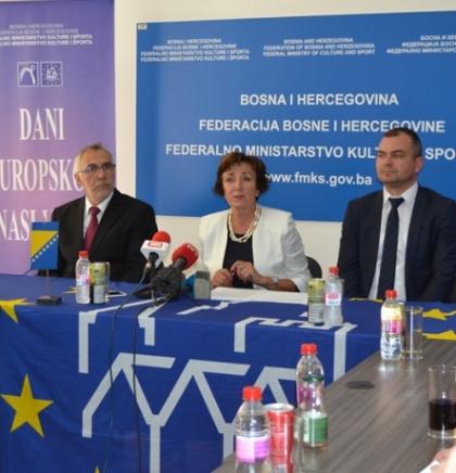 ODRŽANA PRESS KONFERENCIJA POVODOM KULTURNE MANIFESTACIJE DANI EUROPSKOG NASLIJEĐA 2018.