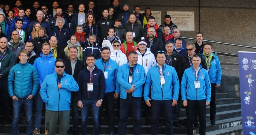 Heads of missions from 46 European countries visit BiH Olympic Committee