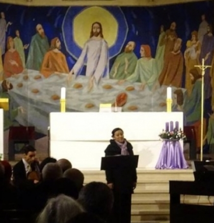 Christmas concert held by Austrian artists at Church of St. Anthony in Sarajevo