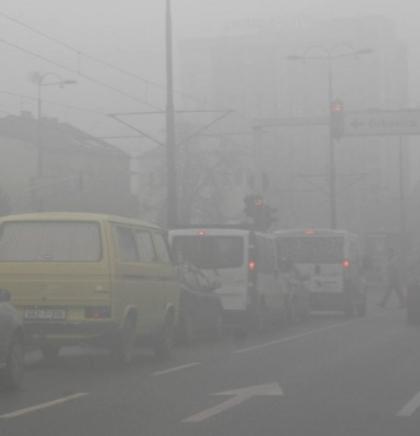 Visoka koncentracija zagađujućih materija u zraku i u narednim danima