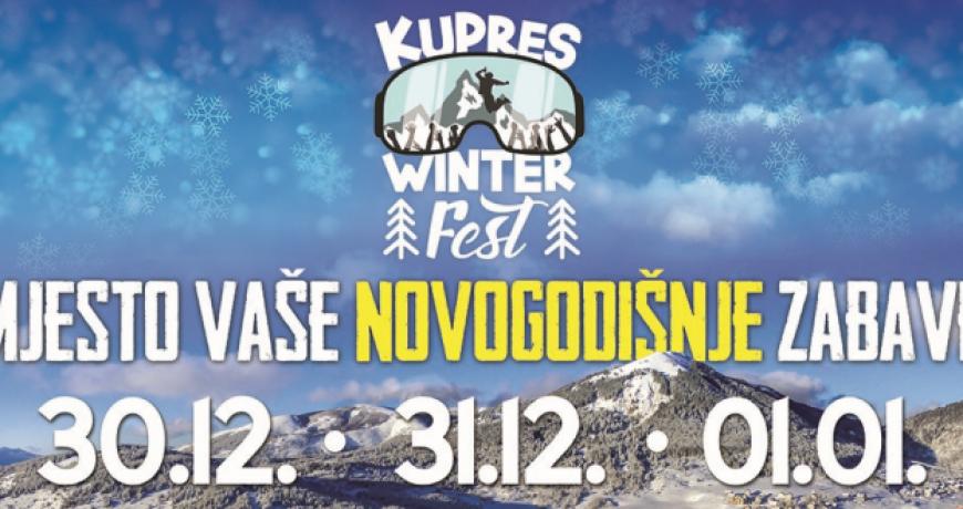 U Kupresu veliki glazbeni festival za novogodišnje praznike