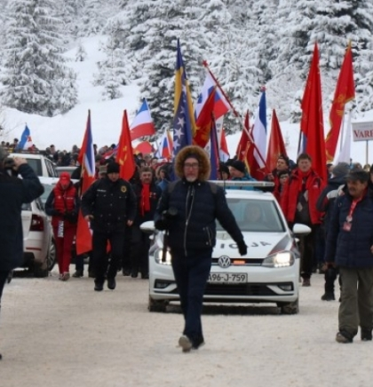 Thousands of antifascists on Mt. Igman in remembrance of 1942 (VIDEO)