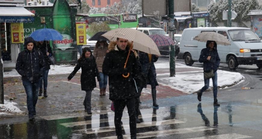 Prognoza vremena za Bosnu i Hercegovinu 23.1.2019