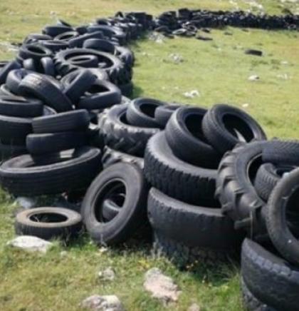 Najavljena sanacija deponija starih guma na Krug planini kod Livna