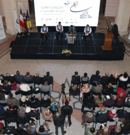 Iranian culture presented to Sarajevo and Tuzla audience