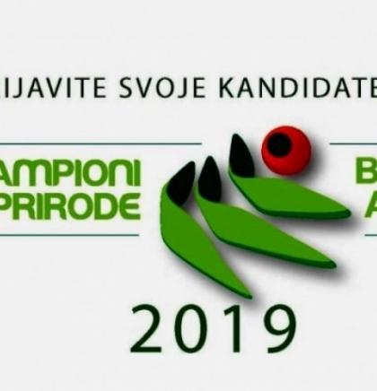 "Dodjela nagrade ""Šampioni zaštite prirode, BiH green awards"" 2019."