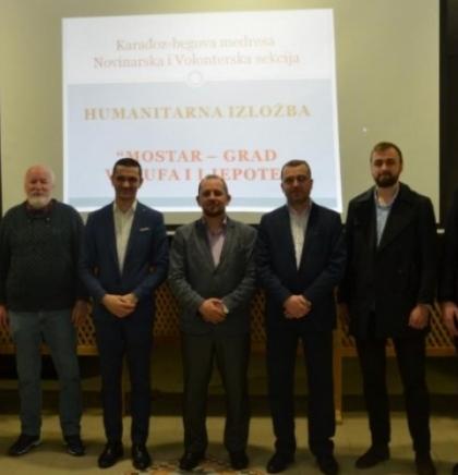 Otvorena humanitarna izložba 'Mostar – grad vakufa i ljepote'