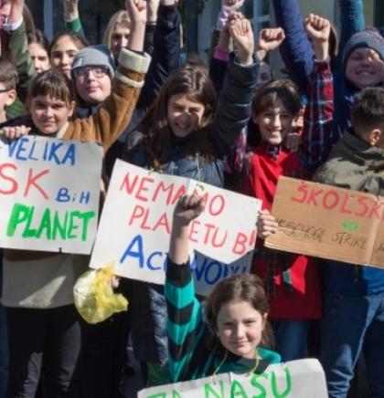 Učenici škole 'Silvije Strahimir Kranjčević' u borbi protiv klimatskih promjena