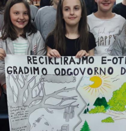 Mostarski učenici priredili radionicu o recikliranju otpada