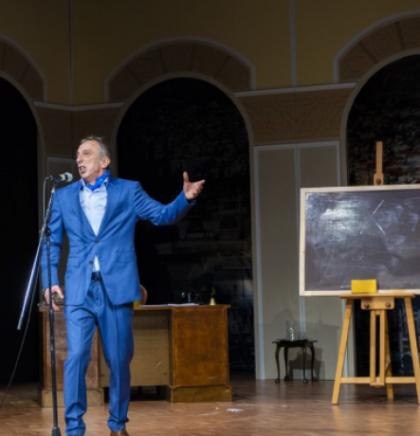 Admir Glamočak uz mostarske glumce u NPM-ovoj komediji 'Anđeli Babilona'