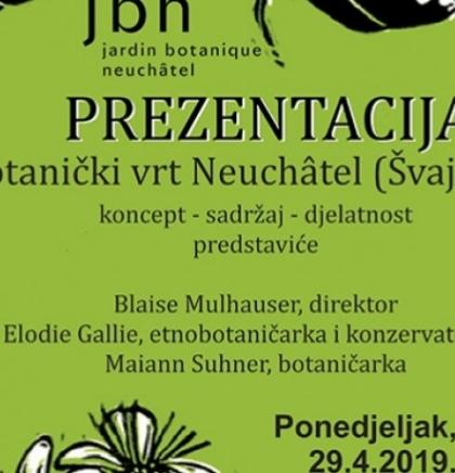 Švicarski botaničari dolaze u Travnik