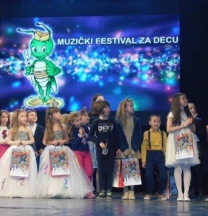 Mladi Goraždani osvojili tri nagrade na dječijem festivalu u Užicu
