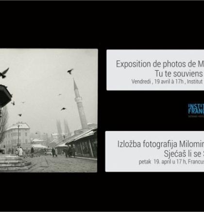 Izložba Milomira Kovačevića Strašnog u Francuskom institutu