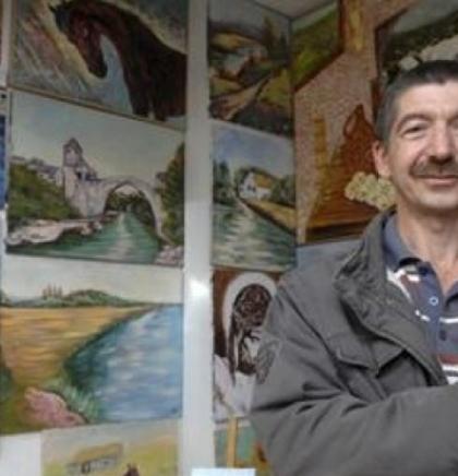Samostalna izložba slika Nikice Sabljića u Ljubuškom