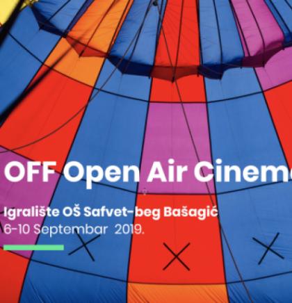 Igralište OŠ 'Safvet-beg Bašagić' Open Air kino u sklopu 11. OFF Sarajevo