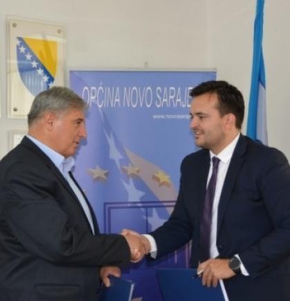 """Sporazum Općine Novo Sarajevo i KJKP """"Park"""" o uređenju parkovskih površina"""