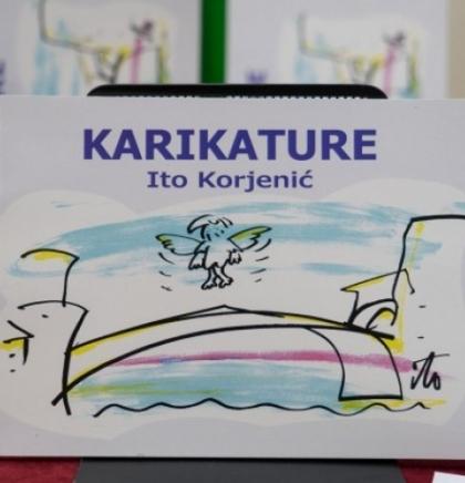 Mostarskoj publici predstavljena knjiga 'Karikature'