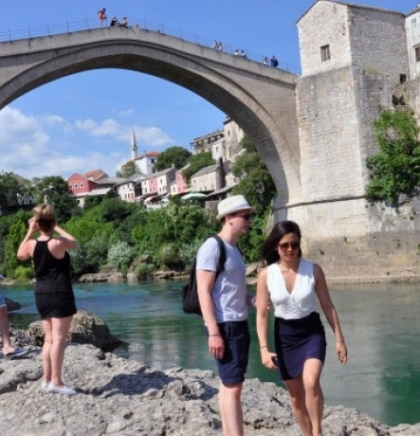 1,07 million tourists in FBiH in 2018, 381.8 thousand in RS