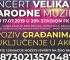 Humanitarni koncert velikana narodne muzike 17. jula u Kaknju