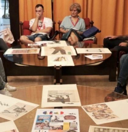 U Galeriji Collegium Artisticum video-instalacija Nore Lefe 'Pauza'