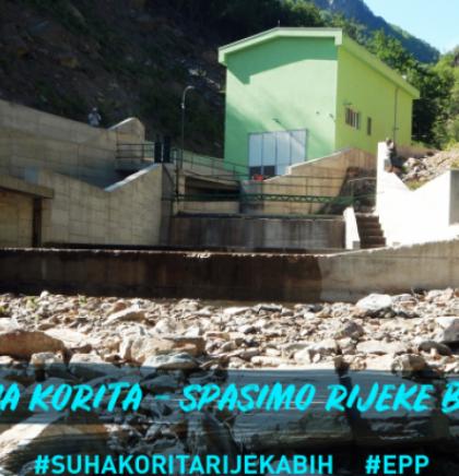 Fotografišite suha korita - spasimo rijeke Bosne i Hercegovine