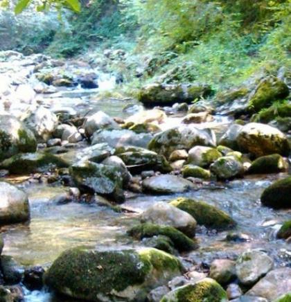 Uređeno izvorište rijeke Šanice kod Jablanice