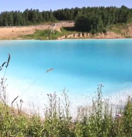 Jezero, koje je zapravo deponij otpada, savršena pozadina za selfije