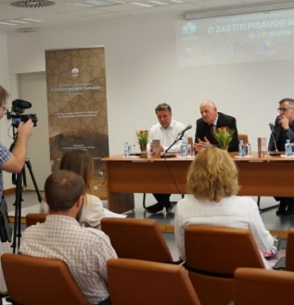 Stručnjaci iz deset država na konferenciji o zaštiti pisanog naslijeđa