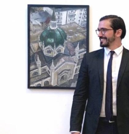 Amir Kurtagić, od mašinskog inženjera do slikara 'Krovova Sarajeva'